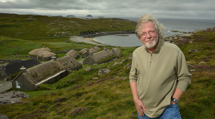 Peter May - image by Writer Pictures/Angus Blackburn