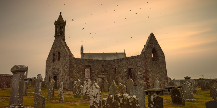 Pitsligo Kirk, Aberdeenshire © Scottish Civic Trust, shown courtesy of Damian Shields