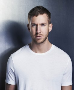 Scottish DJ Calvin Harris, one of the contenders at the MTV EMA 2014