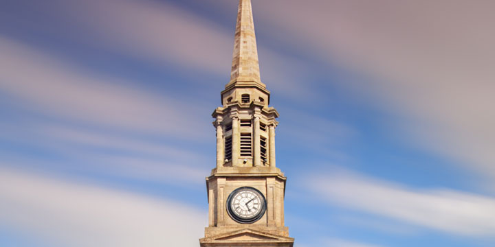 Falkirk Steeple © Scottish Civic Trust, shown courtesy of Damian Shields