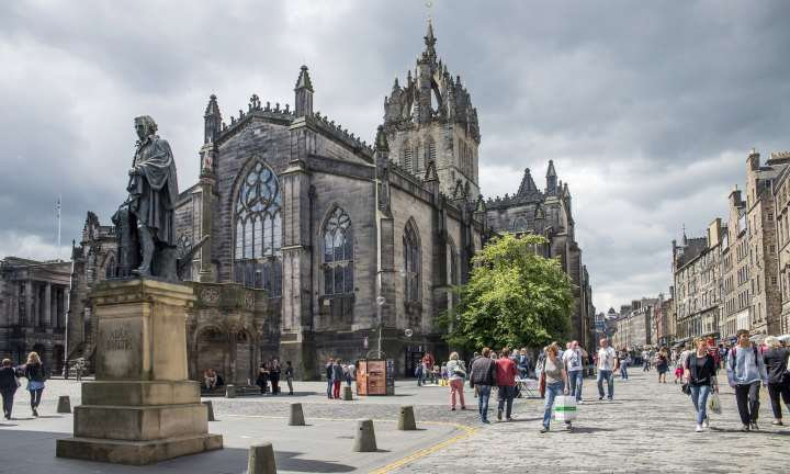 St Giles Cathedral credit Kenny Lam