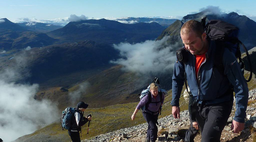 Challenge yourself to reach the summit on guided walks through the hills