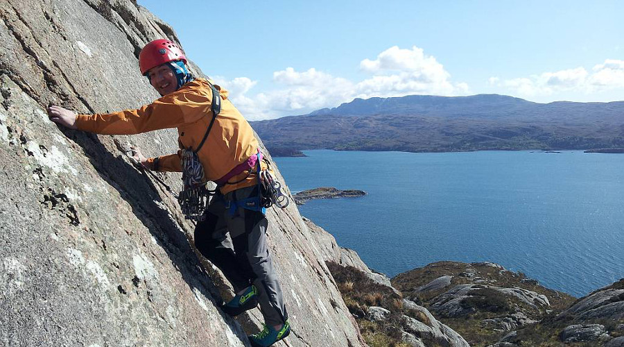 Rock climbing events are taking place throughout the fortnight