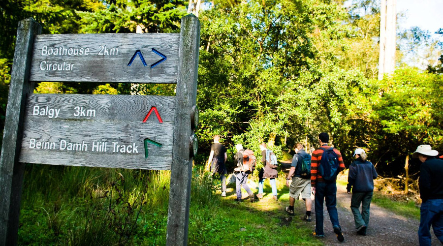 Join a walking group and start navigating your way through the landscape
