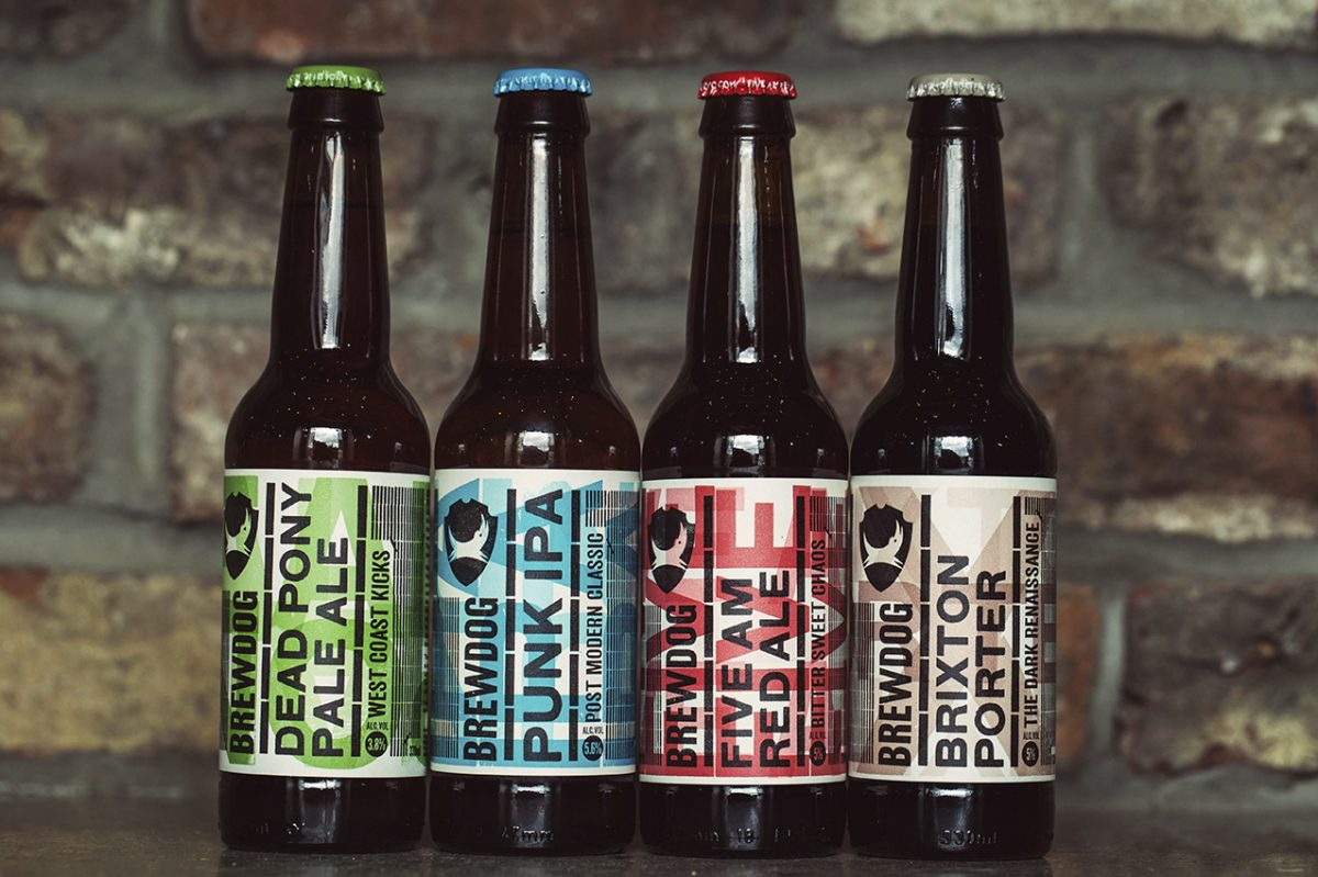 Some tasty BrewDog beers!