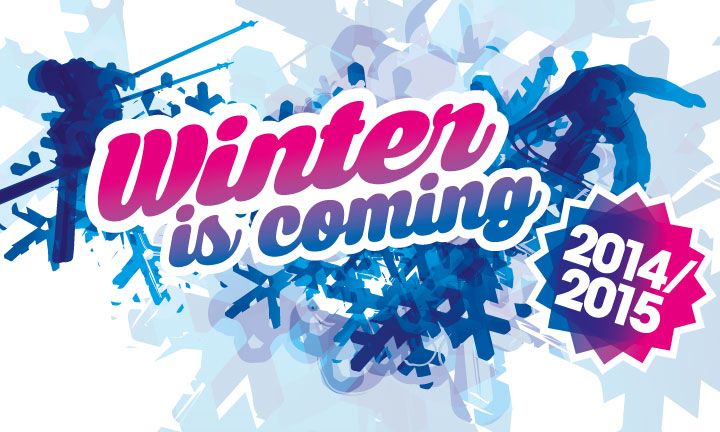 Winter is coming 2014/2015 logo