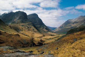 Glencoe in the Highlands
