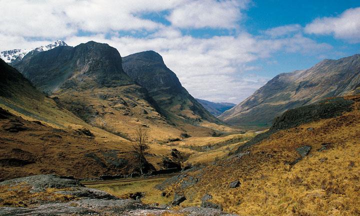 Glencoe in the Highlands