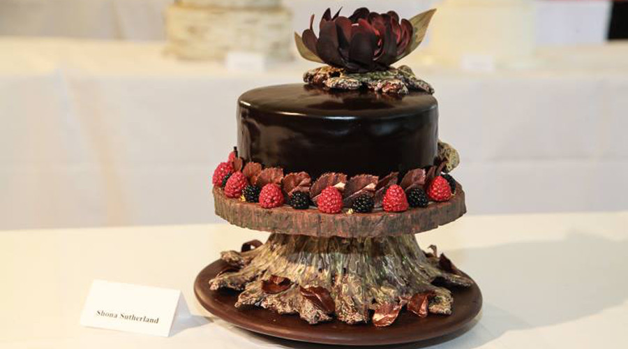 A delicious chocolate cake by Taystful Chocolates