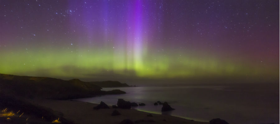 Northern Lights over Durness, April 2014 © Mo Thomson