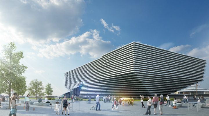 Dundee's future V&A Museum of Design