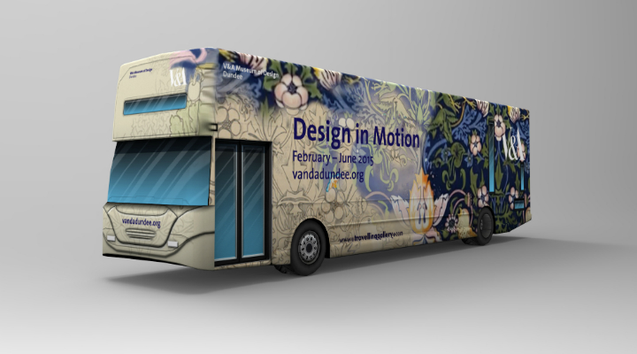 DesignScotland's 'Design in Motion' travelling gallery