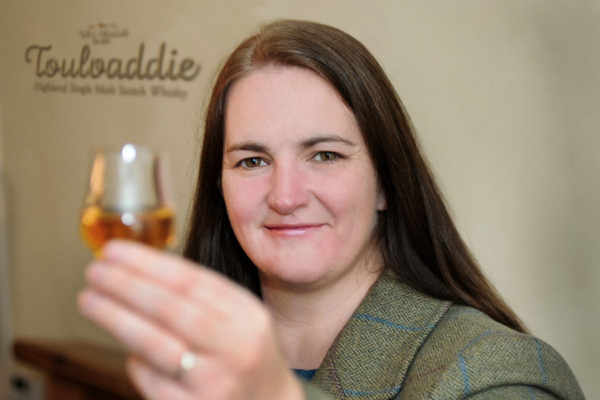 Heather Nelson of Toulvaddie Distillery, by Tain