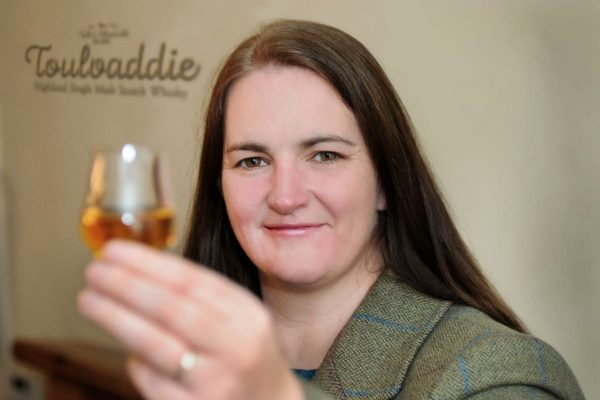 Heather Nelson of Toulvaddie Distillery