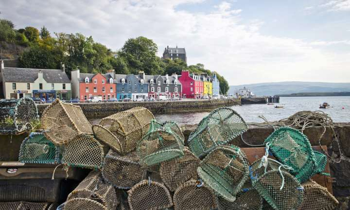 Tobermory harbour, Mull