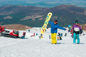 Skiing at Cairngorm Mountain