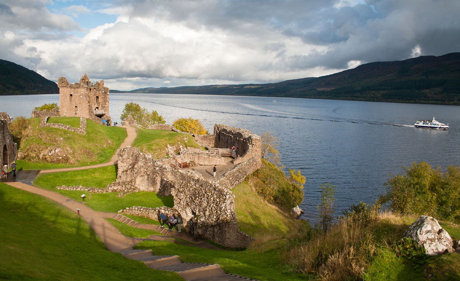 Urquhart Castle ©johnbraid / Dollar Photo Club