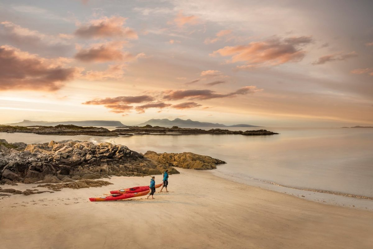 Camusdarach Beach near Arisaig, Highlands