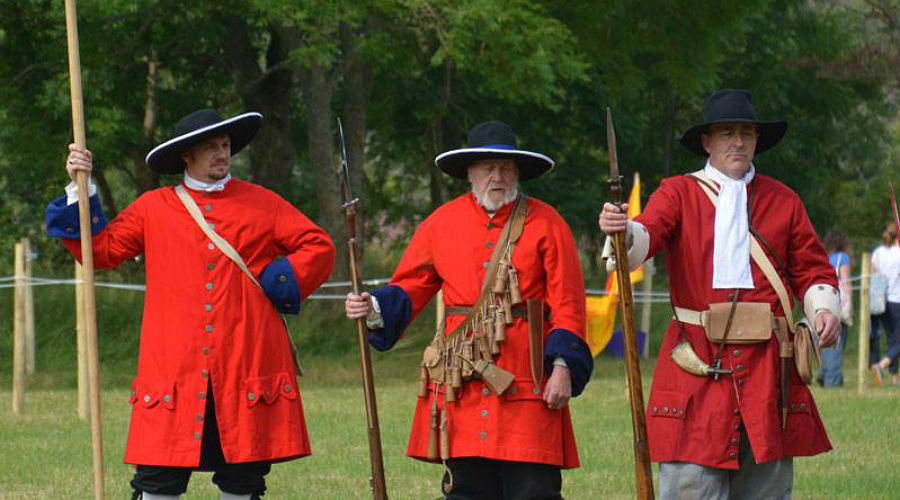 Redcoats at the Soldiers of Killiecrankie