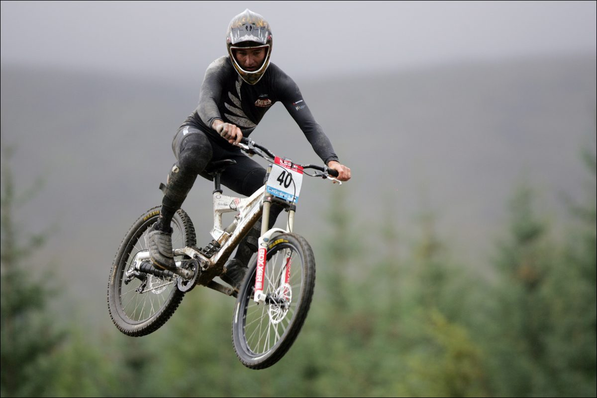 Nathan Rankin of New Zealand - World Mountain Biking Champions, Fort William