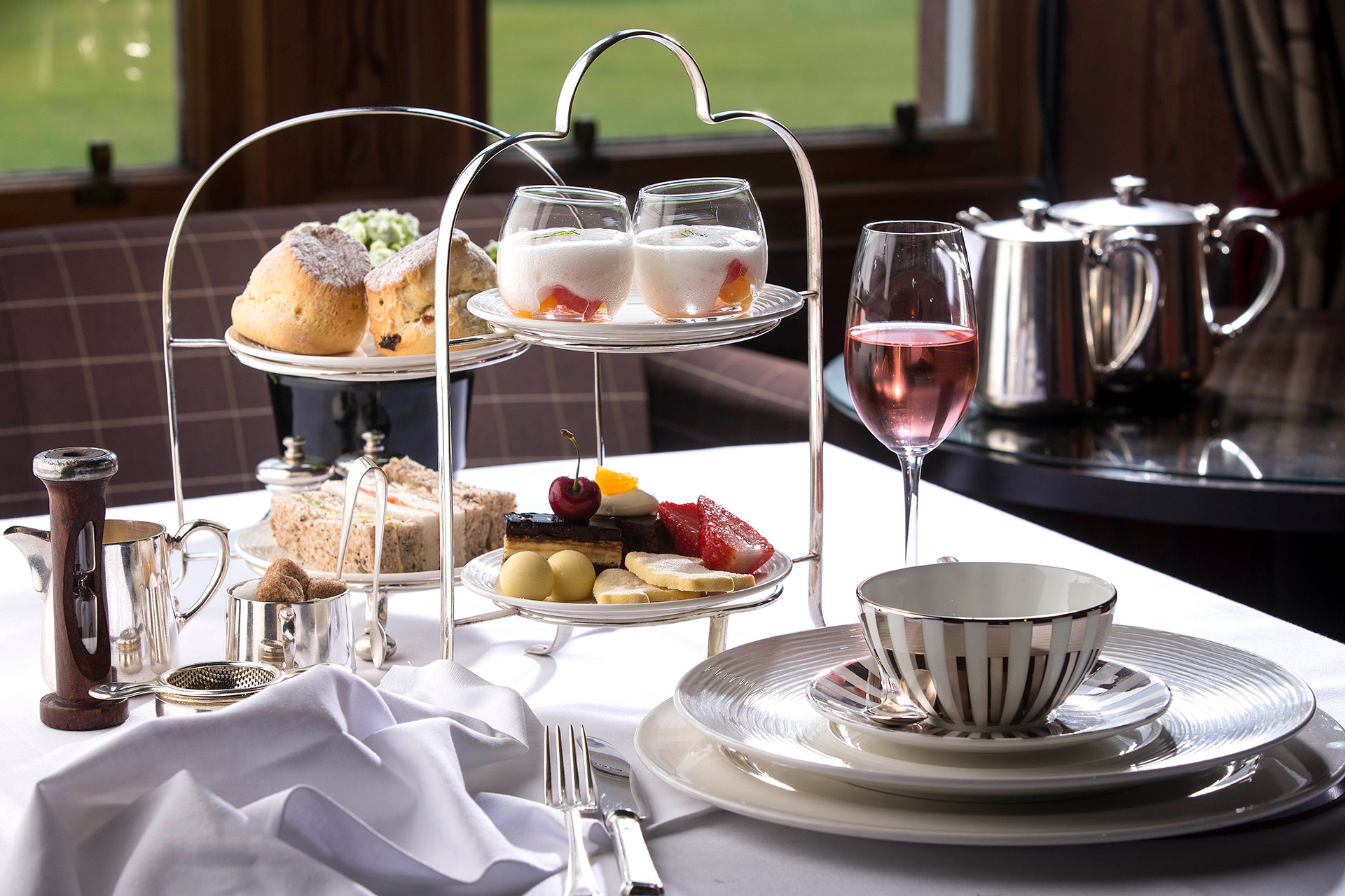 Afternoon tea at The Torridon, Wester Ross © The Torridon