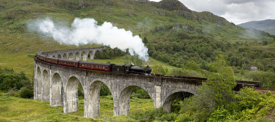 The Glenfinnan Viaduct, Highlands