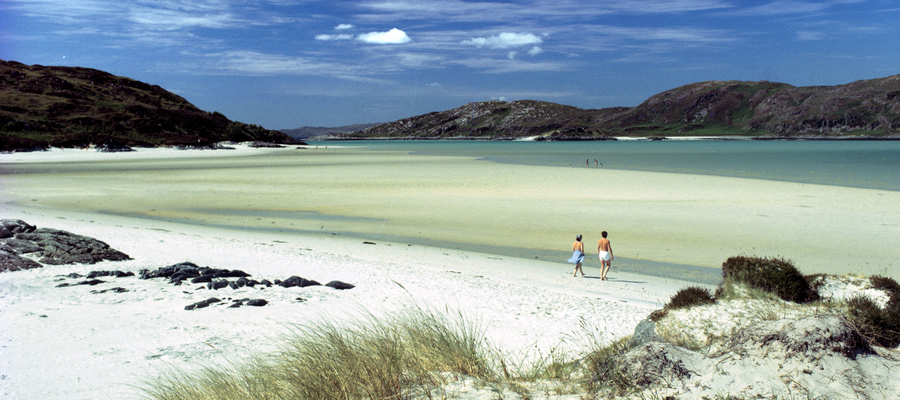 The Silver Sands of Morar, Highlands