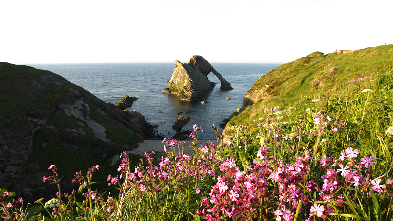 Bow Fiddle Rock, Portknockie, Moray