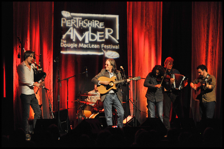 Performers at Perthshire Amber: The Dougie MacLean Festival