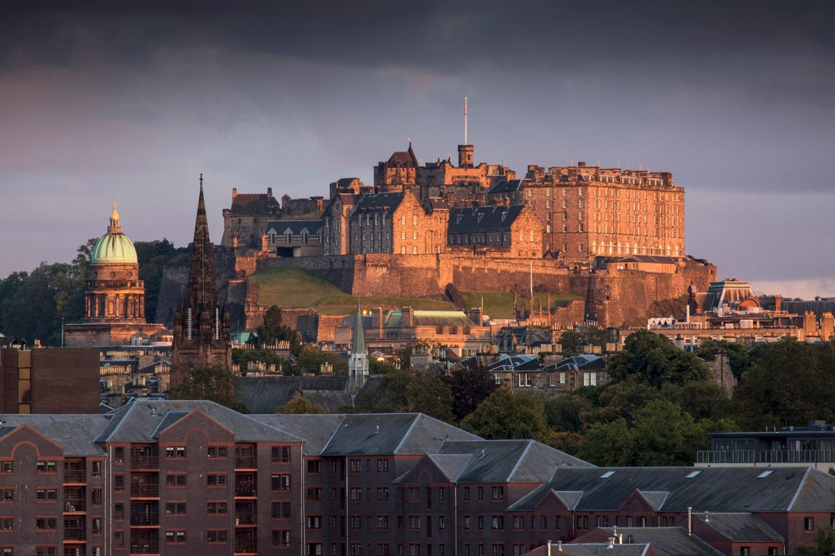 Edinburgh Castle © Kenny Lam