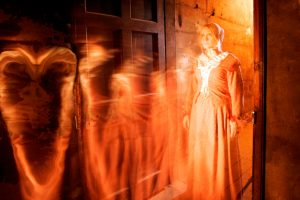 A ghostly apparition © The Real Mary King's Close, Edinburgh