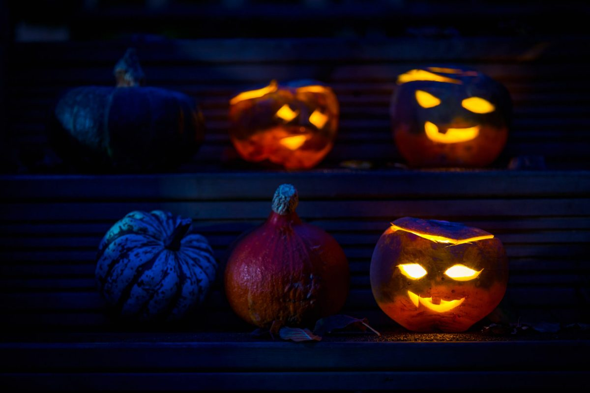 Carved turnip lanterns