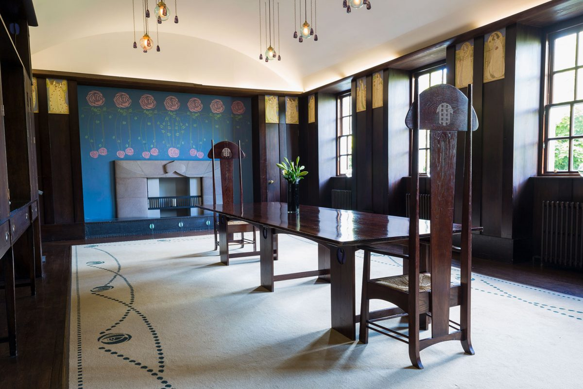 The Dining Room, House for an Art Lover in Bellahouston Park