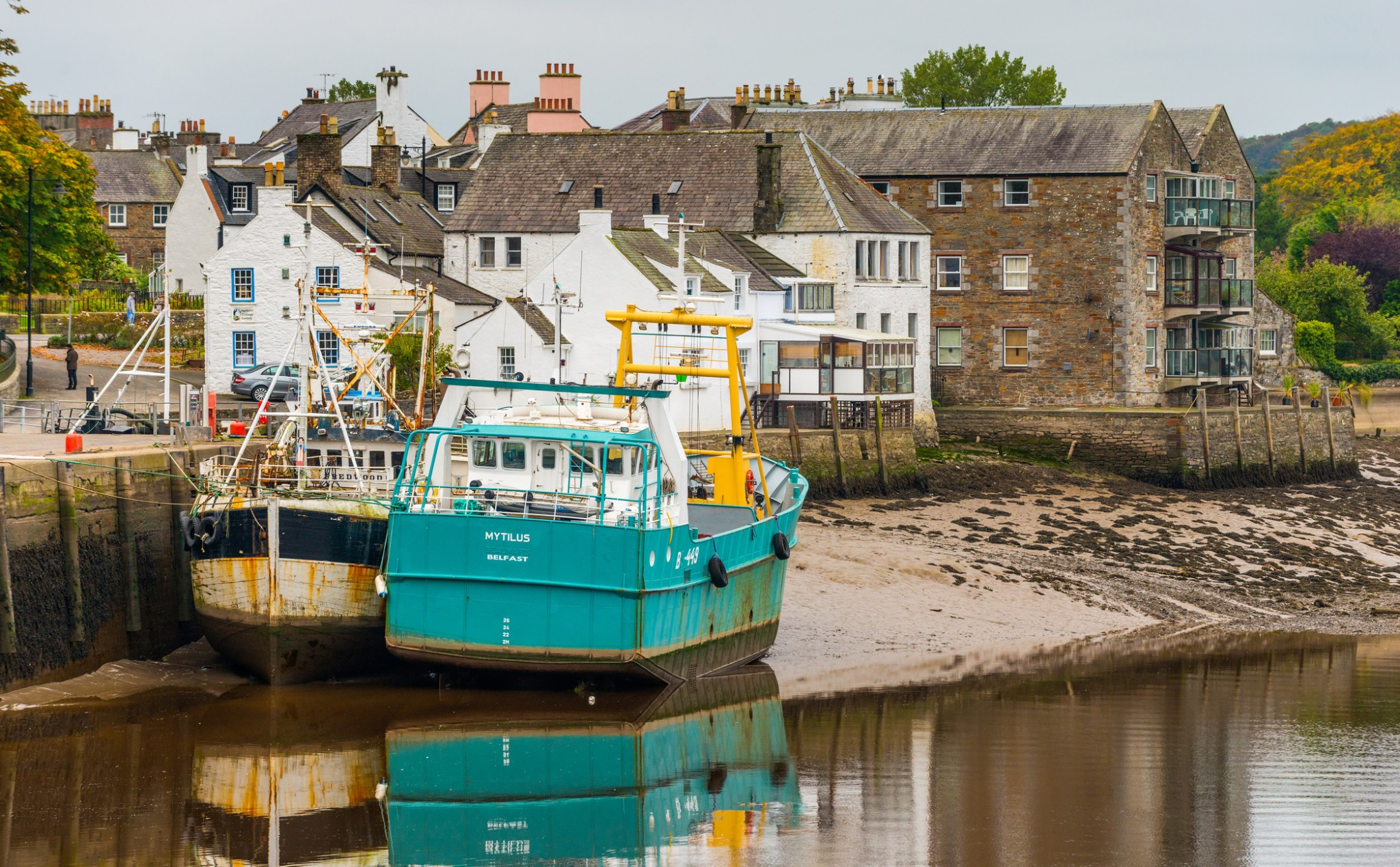 Kirkcudbright harbour, Dumfries & Galloway