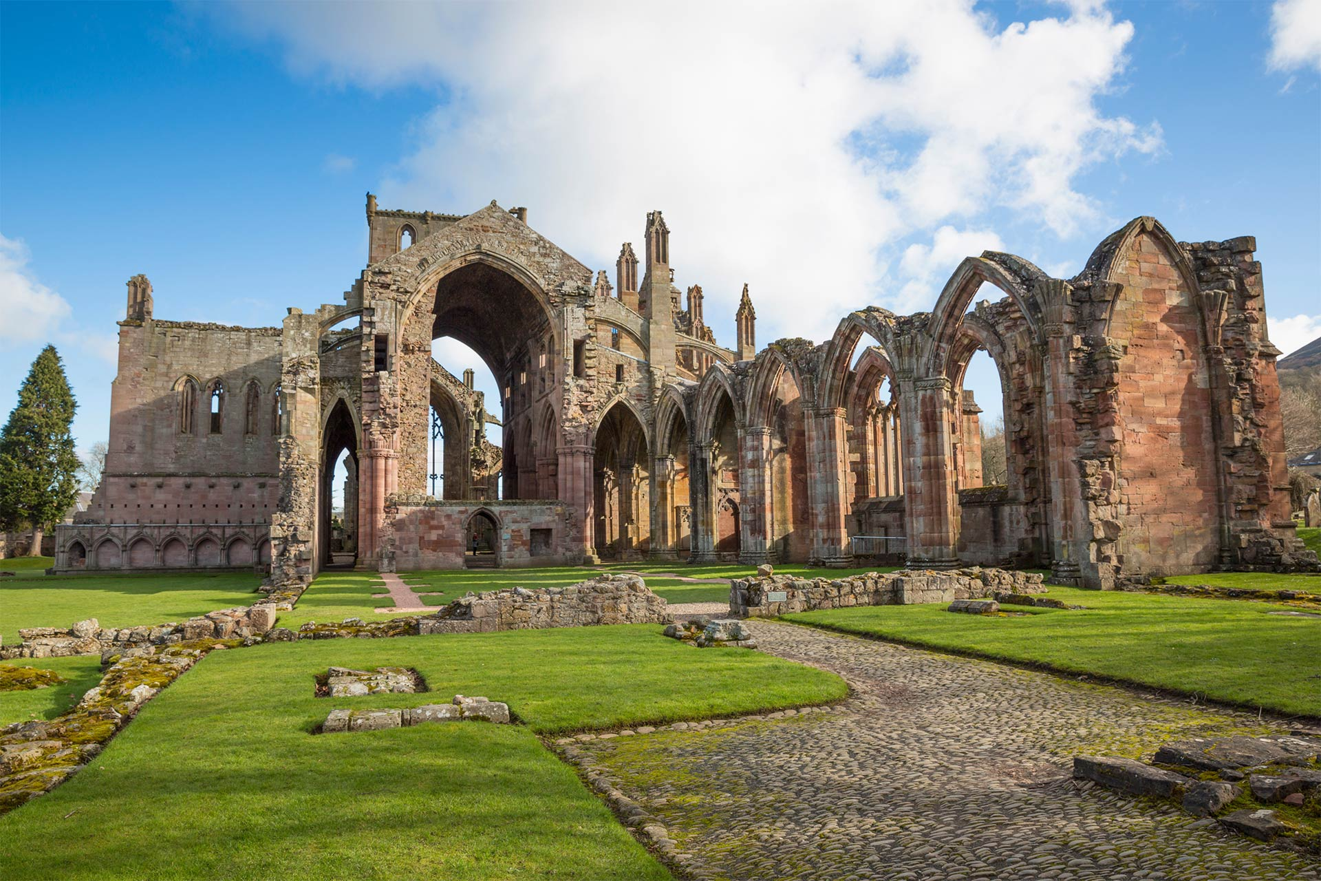 Melrose Abbey, Scottish Borders