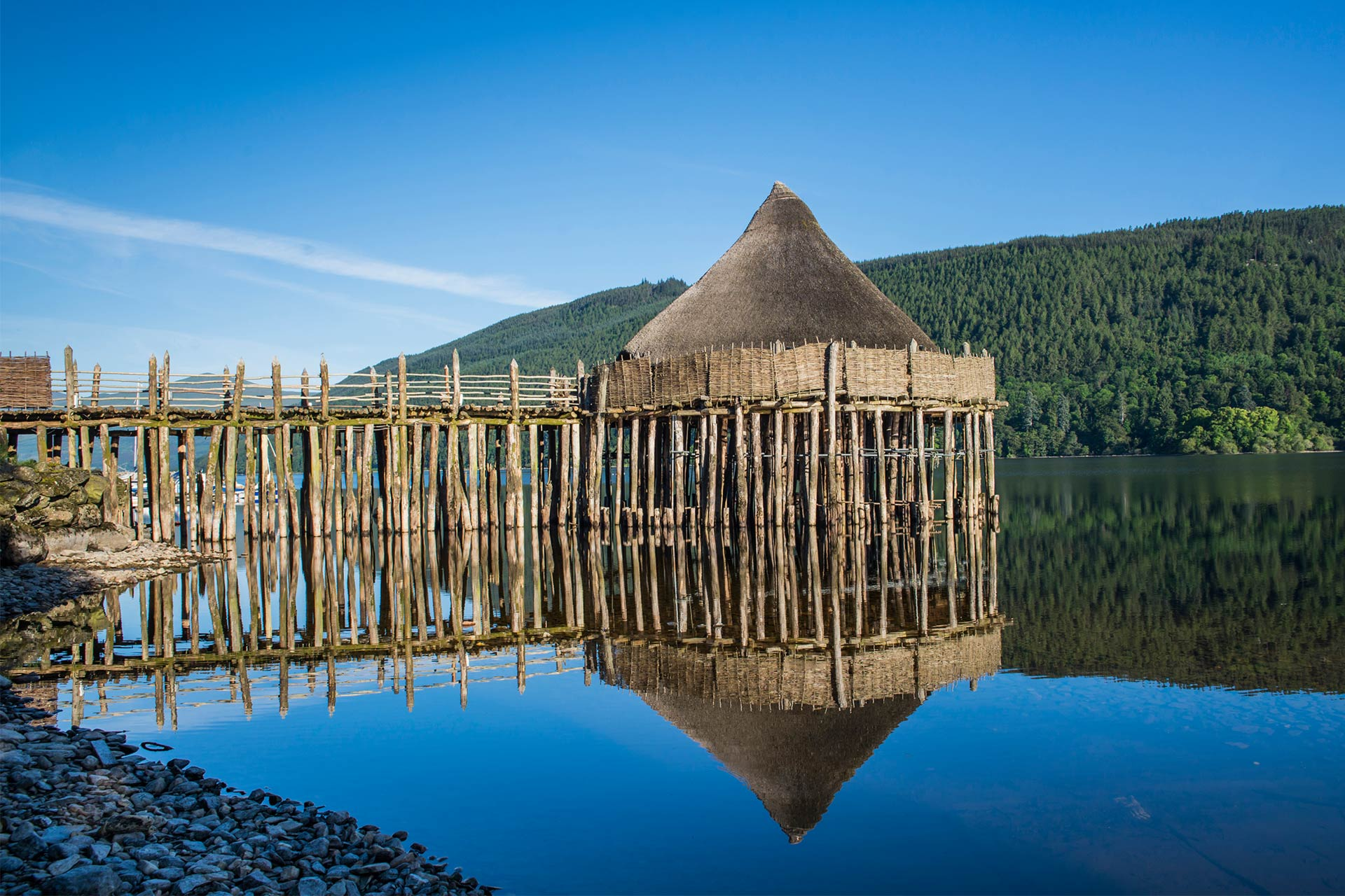 Scottish Crannog Centre, Loch Tay, Perthshire © Kenny Lam