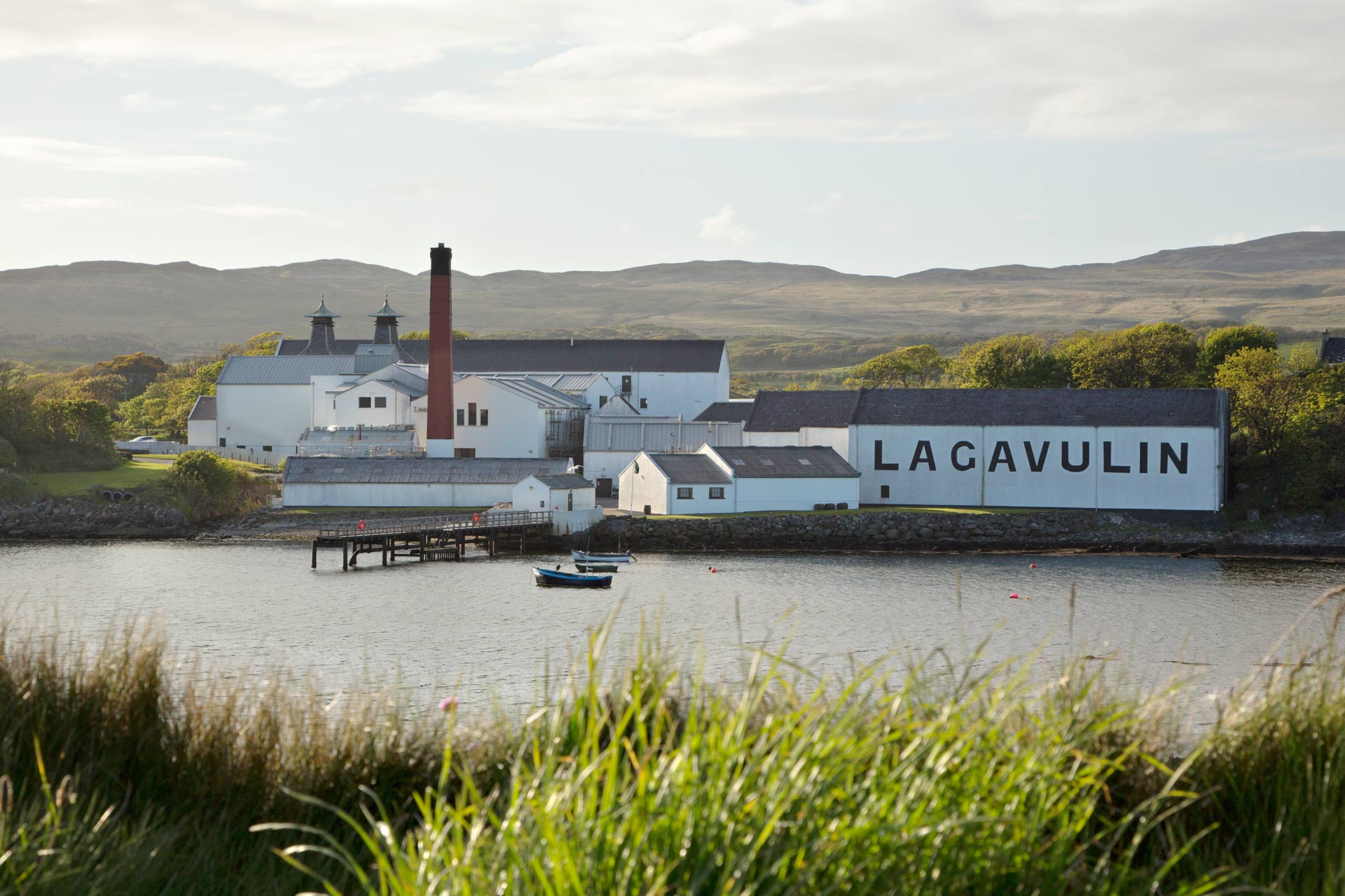 The Lagavulin Distillery on the Isle of Islay.