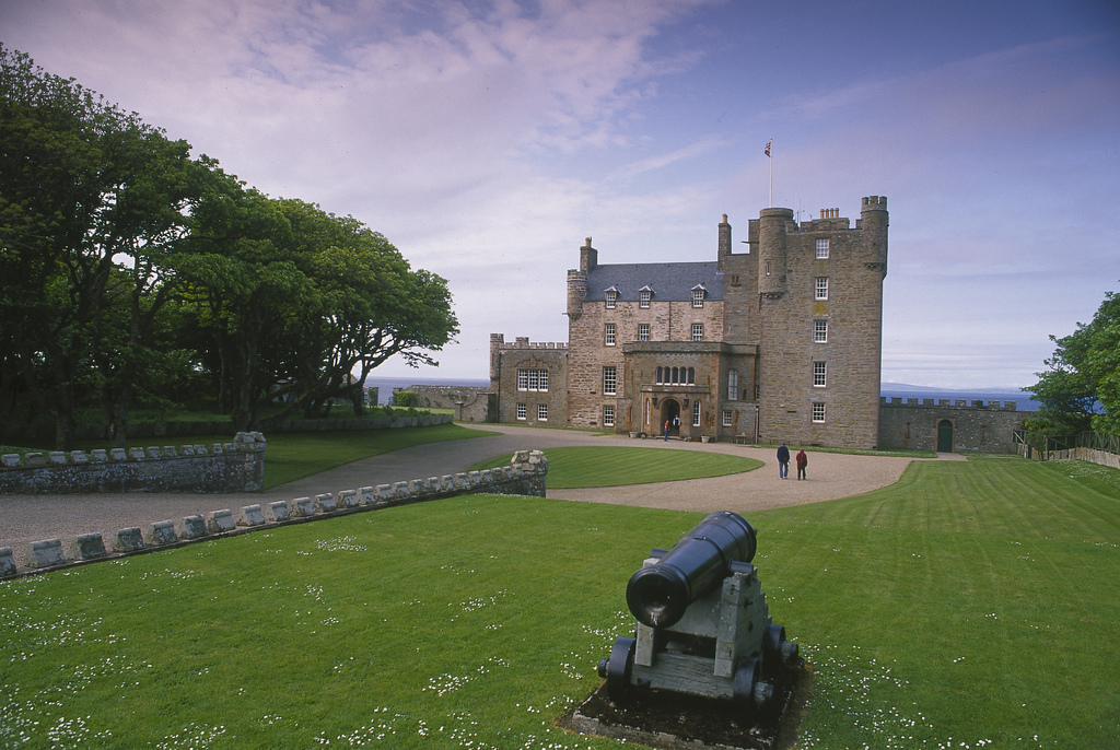 The Castle of Mey, Highlands