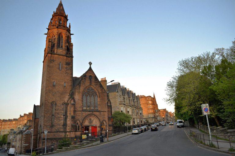 An exterior view of Belford Hostel, Edinburgh