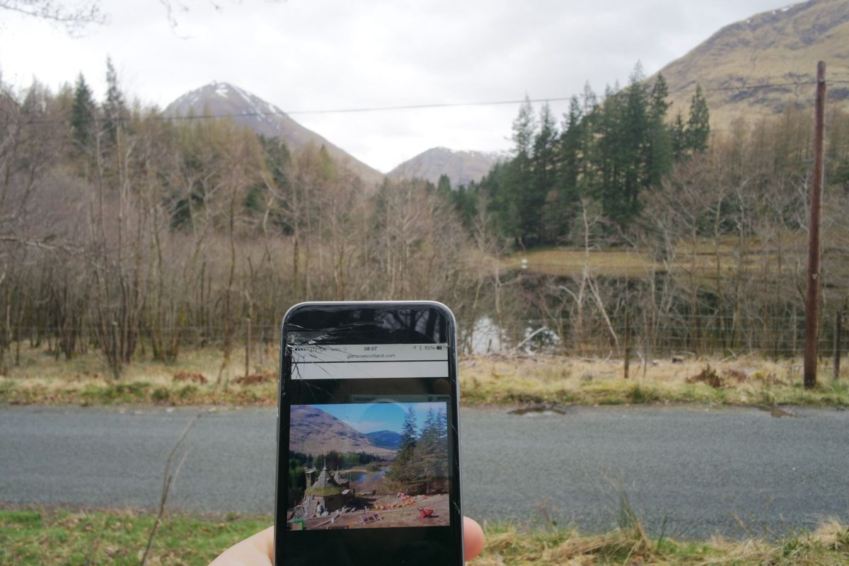 Looking for Harry Potter Locations in Glencoe, Scotland