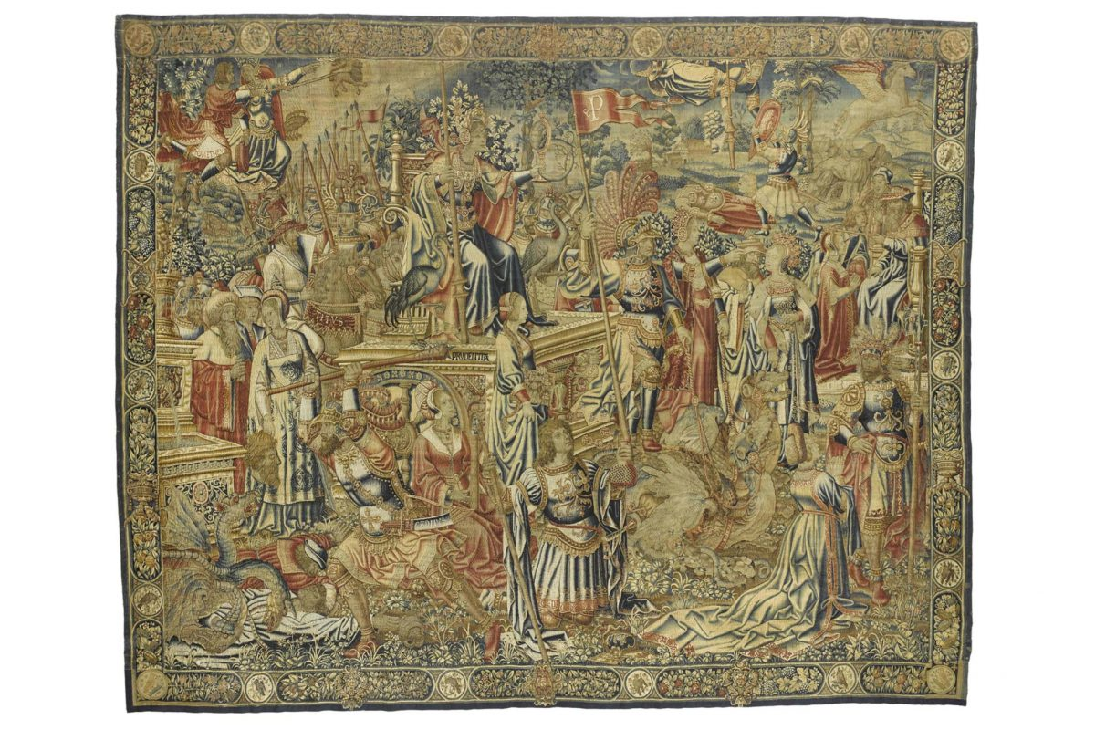 Triumph of Prudence tapestry © NMS