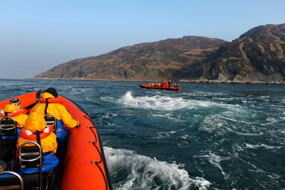 A SeaFari Adventures trip to the Corryvreckan whirlpool, Argyll