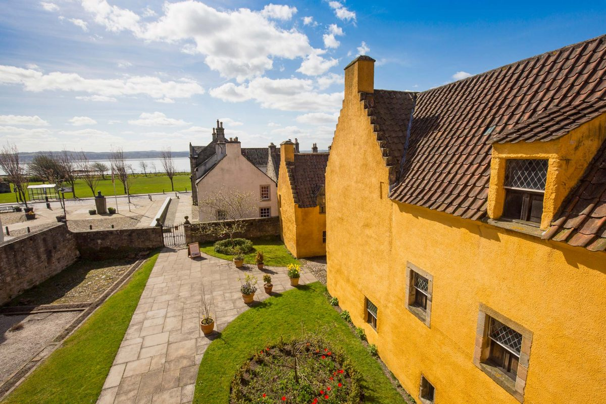 Culross Palace and Gardens in the Royal Burgh of Culross