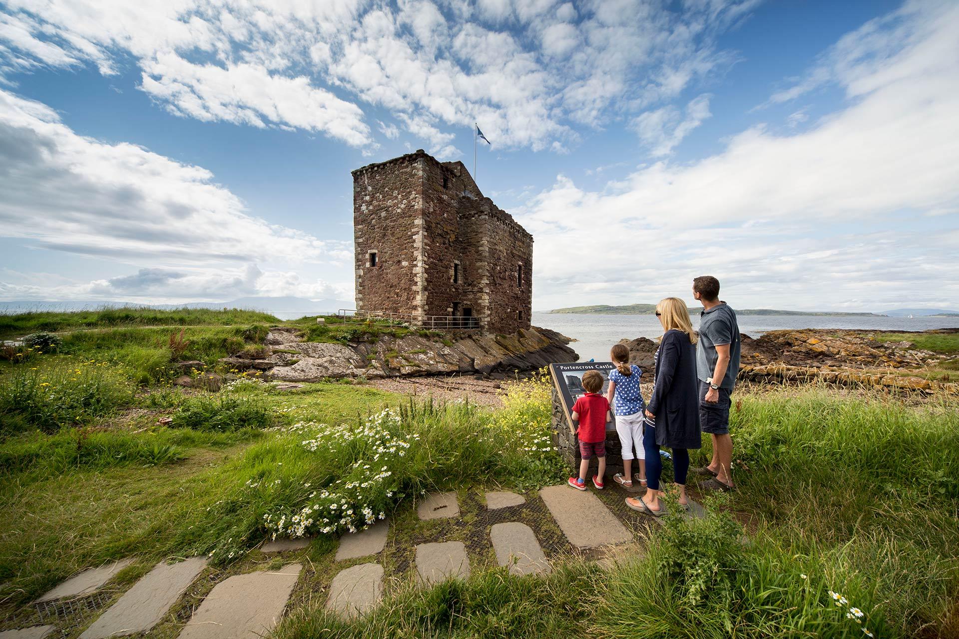 Castles In Scottish Tours December