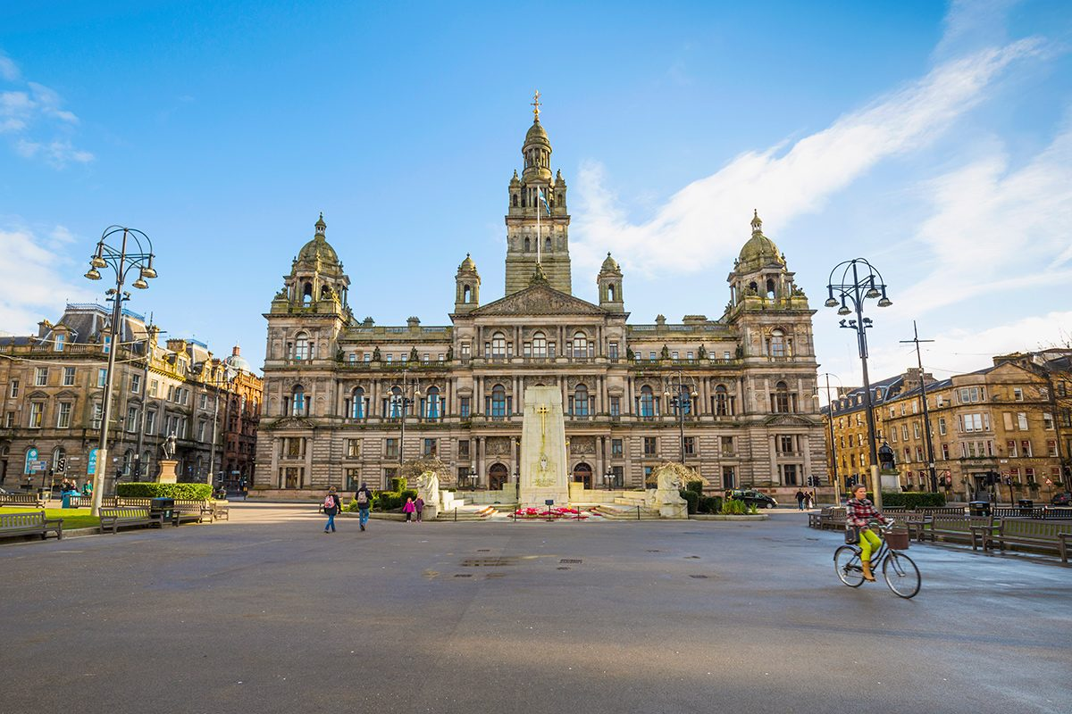 The City Chambers and George Square, Glasgow