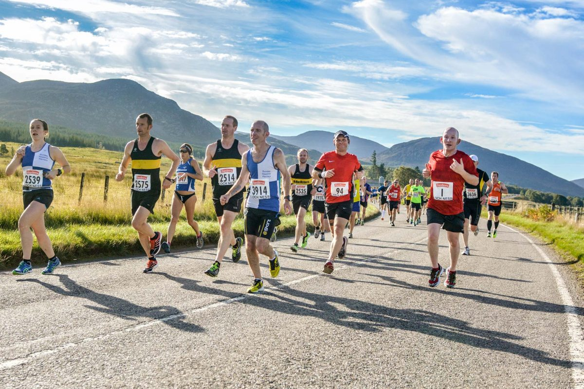 Baxters Loch Ness Marathon, 29th September 2013