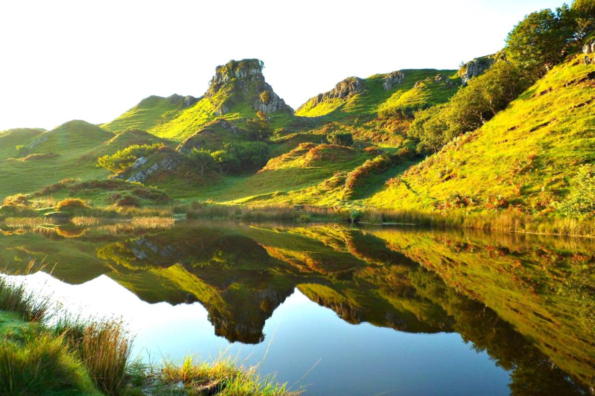 Fairy Glen. Credit www.facebook.com/fairyglenisleofskye