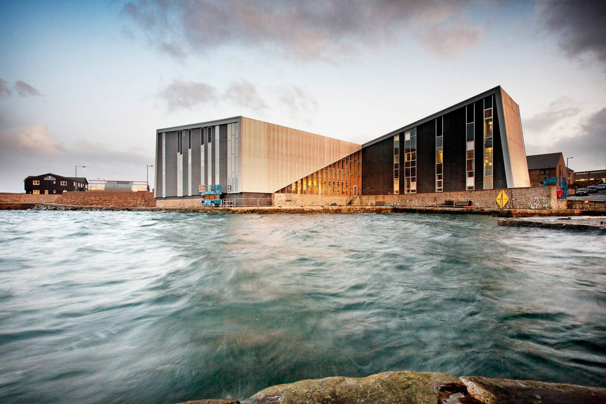 Mareel - the UK's most northerly music, cinema and creative industries centre, Lerwick, Shetland