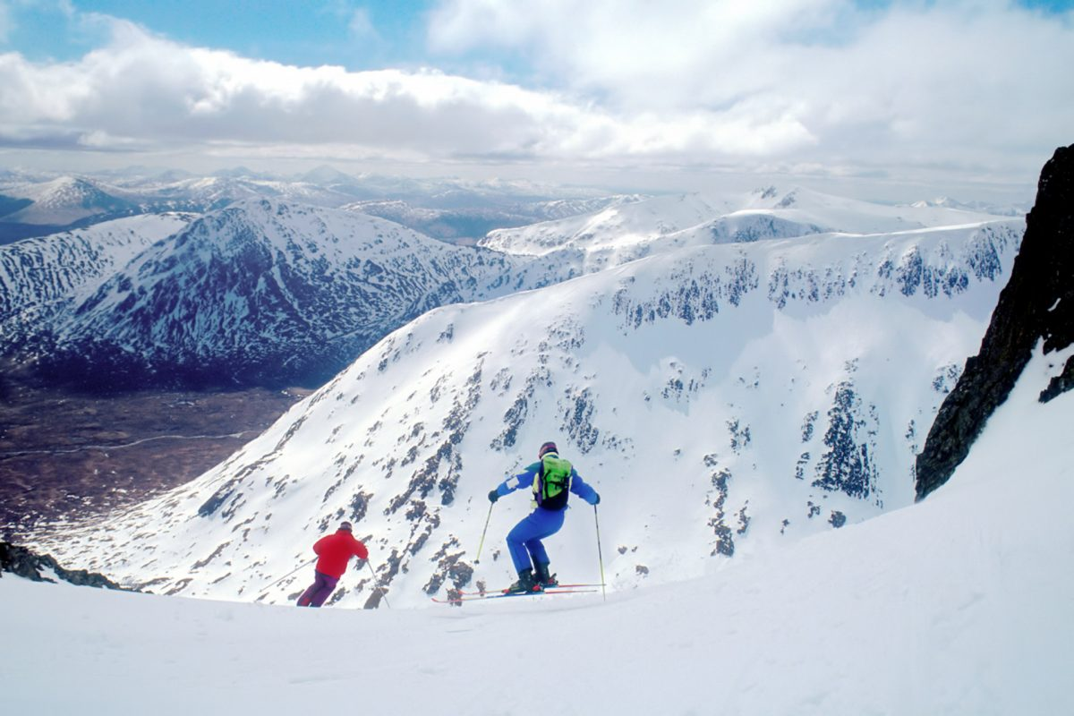 Ski à Glencoe Mountain