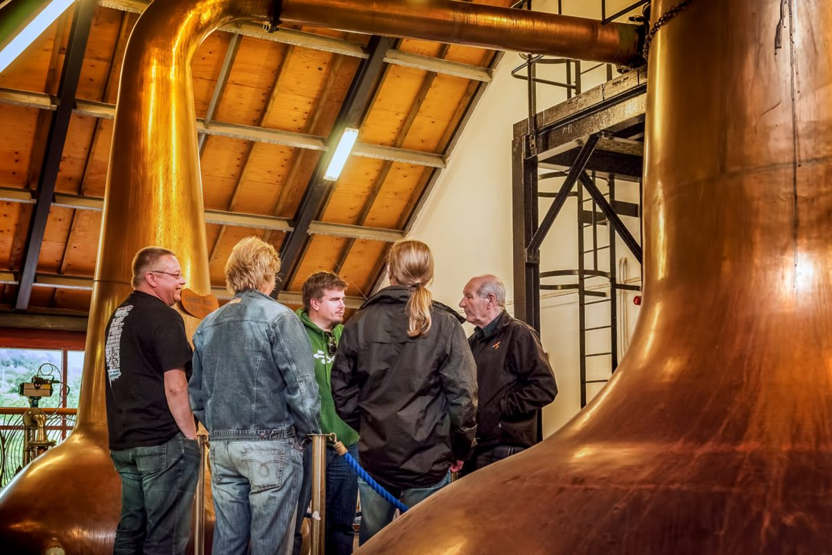 Whisky-Tour, Isle of Arran Distillery